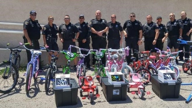 The Las Cruces Police Department's Codes Enforcement section now has 16 new bicycles and 50 new helmets that will be used at the many bike rodeos sponsored by the department.