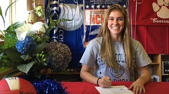 Hendersonville senior Cyrena Bedoian has signed to