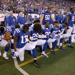 NFL new national anthem kneeling policy enslaves black players, fans