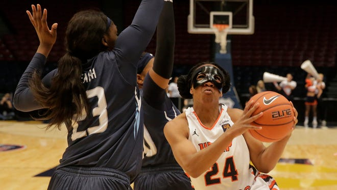 UTEP guard Jenzel Nash and her Miner teammates will take on Abilene Christian on Thursday in the first round of the WNIT.