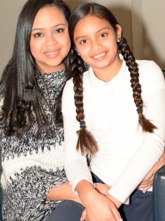 Johanna and Valentina Perez