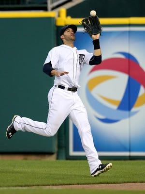 The Detroit Tigers' J.D. Martinez.