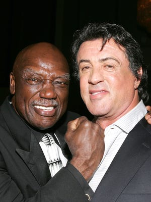 Tony Burton played the trainer to Sylvester Stallone's Rocky Balboa.