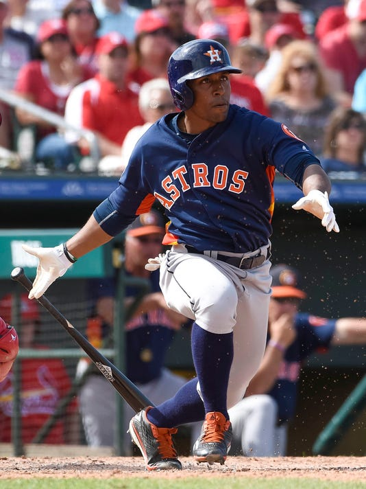MLB: Spring Training-Houston Astros at St. Louis Cardinals