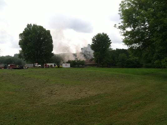 Hankinson Road fire