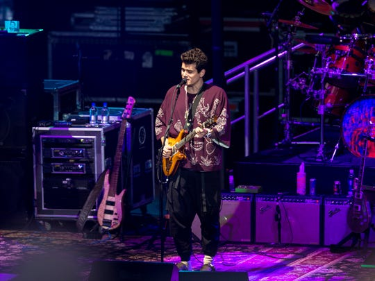 John Mayer, pictured here with Dead & Company at Alpine Valley last year, will headline his own show Aug. 6 at Fiserv Forum.