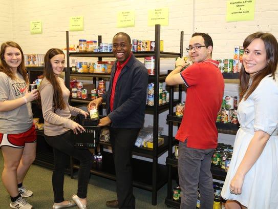 Northwestern State University opened a food pantry