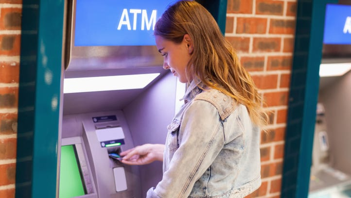 Fees for using an out-of-network ATM have increased