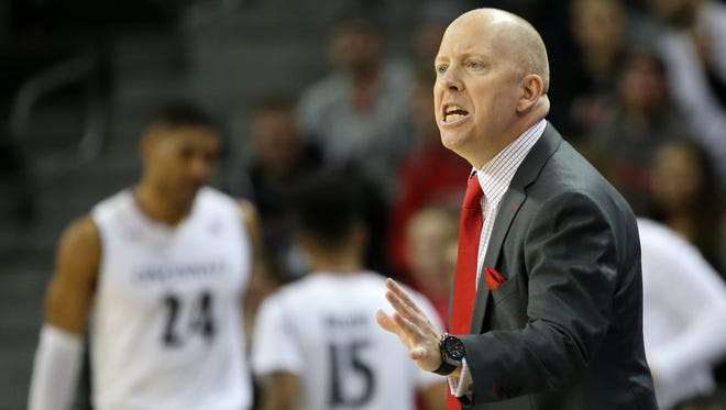 Coach Mick Cronin says his Cincinnati Bearcats still must improve defensively if they want to compete with elite teams.