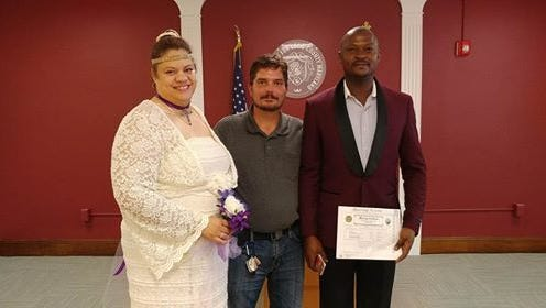 David Scullion, an Uber driver from Bear, Delaware, drove a stranded Philadelphia couple to their wedding in Elkton, Maryland free of charge.