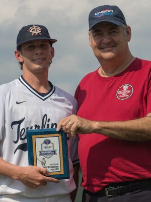 Teurlings Catholic's Josh Taylor was named MVP of the game.