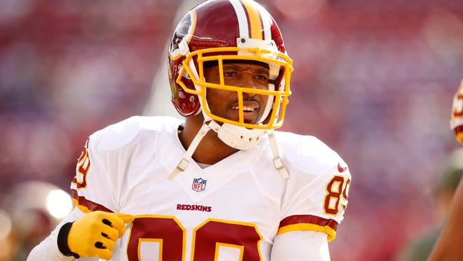 Washington Redskins wide receiver Santana Moss was fined for tirade in game against New York Giants.
