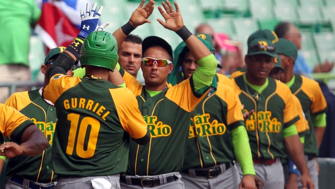 Cuba second baseman Yulieski Gurriel was among those added to the roster for the Caribbean Series.