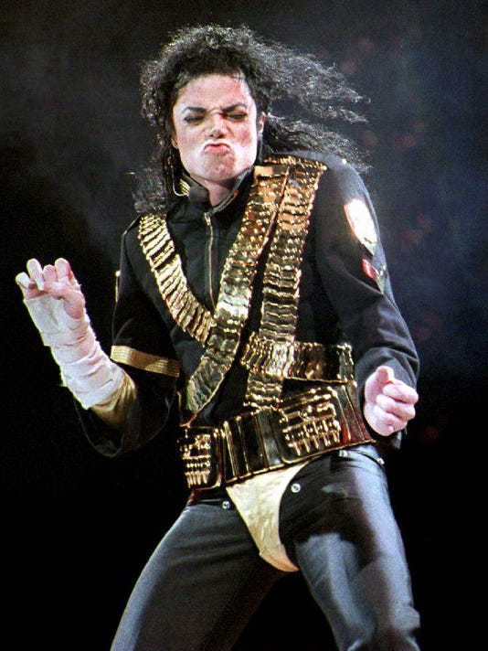 Pop star Michael Jackson, who turns 35 today, perf