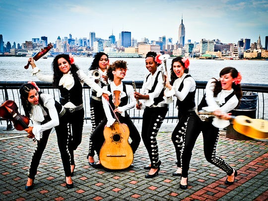 Catch Mariachi Flor de Toloache at the free Levitt