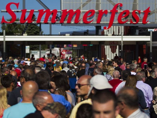 Summerfest will reveal the headliners for the grounds stages at 6 a.m. Tuesday.