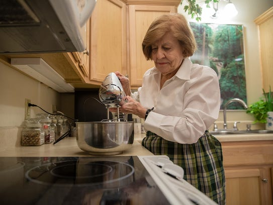 Dorothy Kelly, 91, is well-known for her cooking and