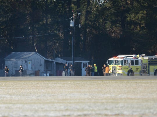 Virginia State Police investigate a reported plane