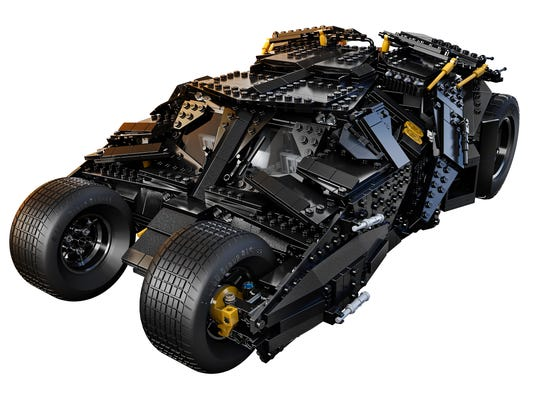 LEGO rolls out 'Dark Knight' Tumbler for Comic-Con