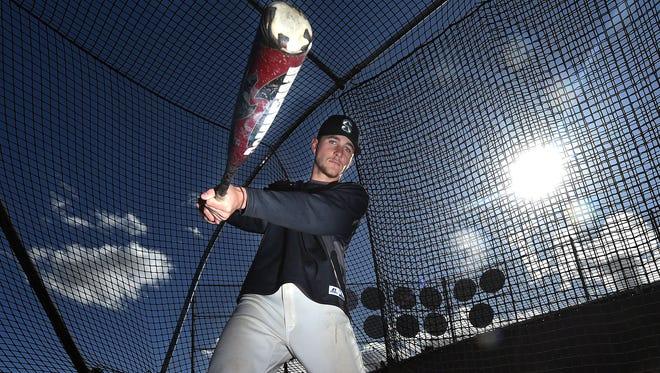 Brice Turang played shortstop at Santiago High School in Corona, Calif.