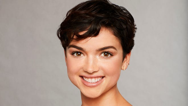 Bekah Martinez, a contestant on this season of 'The Bachelor' appeared on 'Jimmy Kimmel Live!' Monday.