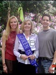 Brigitte Hyde Quebedeaux, Mary Olga Trent and Brandon