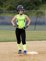 Carly Scott of Horseheads played for the Lady Rebels 12-under travel softball team this summer and has aspirations of playing at the varsity level at Horseheads High School.