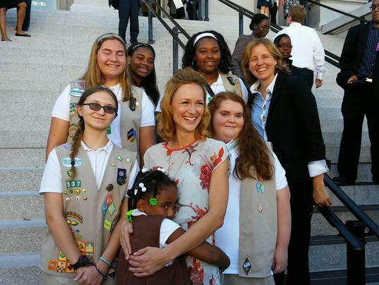 Girl Scouts White House
