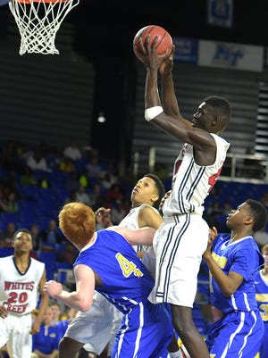 Whites Creek's Ruot Monyyong picked up an offer to play college basketball at Iowa State this week – his first from a major Division I institution.