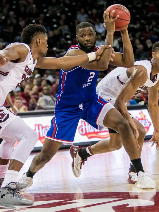 NCAA Basketball: Louisiana Tech at South Carolina