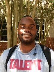 Darrell Perkins, 22, is a senior kinesiology major