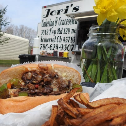 The Philly cheesesteak is a customer favorite at Jori's,