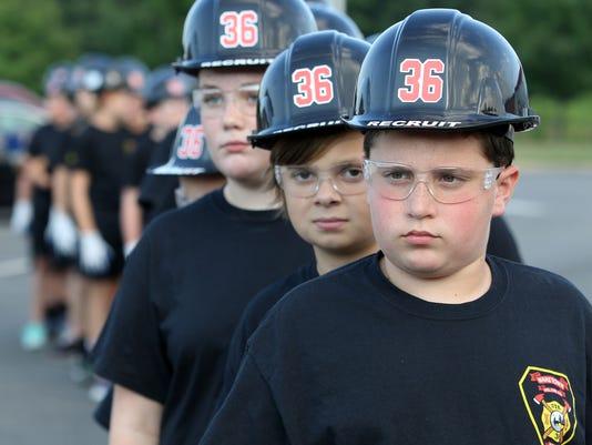 ASB Ocean County s Junior Firefighters