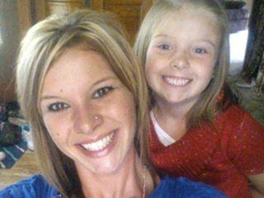 Homicide victim Heather Bogle with her daughter McKenzie.