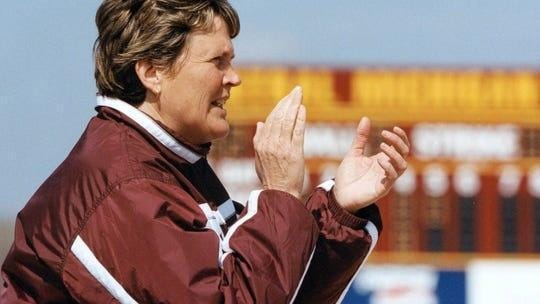 Margo Jonker was named to the Michigan Sports Hall of Fame.