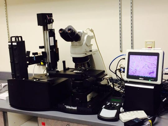 Each piece of equipment in the NANSLO Lab, housed at