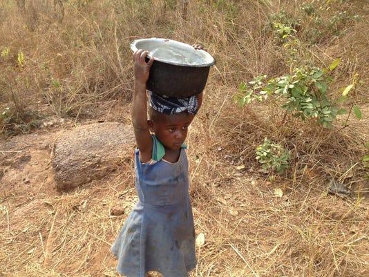 GIRL FAL 0216 ATR Tanzania water project