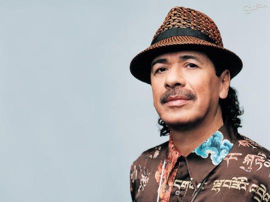Carlos Santana performs Aug. 16 in Verona.