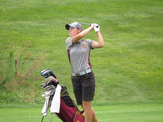 Madison Smith is the only conference and regional champion in Cooper golf history and the lone three-time state qualifier.