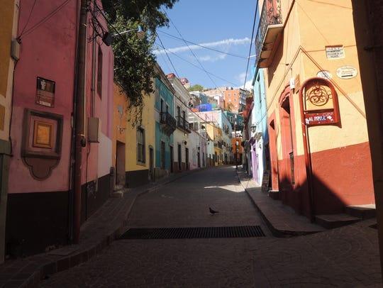 Street in Guanajuato.
