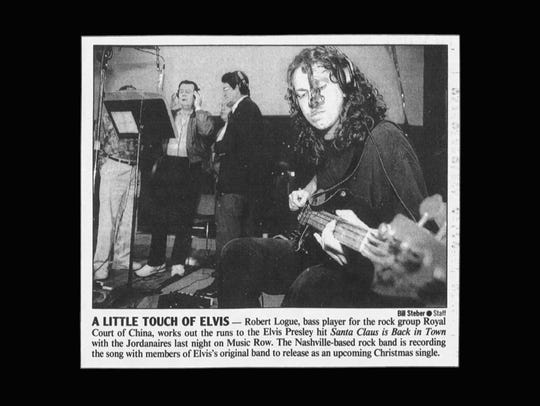 This Tennessean newspaper clipping from 1992 shares insight into 1217 16th Avenue South's history in the music industry.