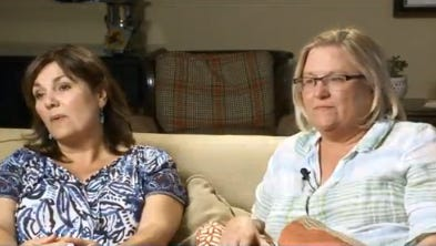 Two mothers are relieved after their sons stopped a terror attack on a high-speed train in France. (August 21, 2015)