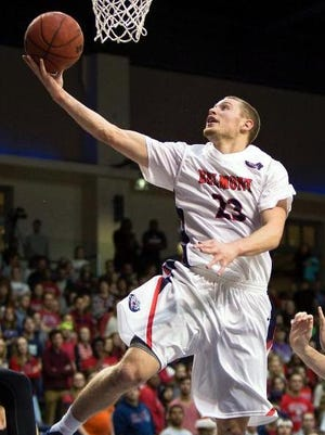 Belmont's Craig Bradshaw was selected the preseason OVC player of the year by the media.