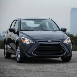 Scion introduces its first sedan at New York Auto Show