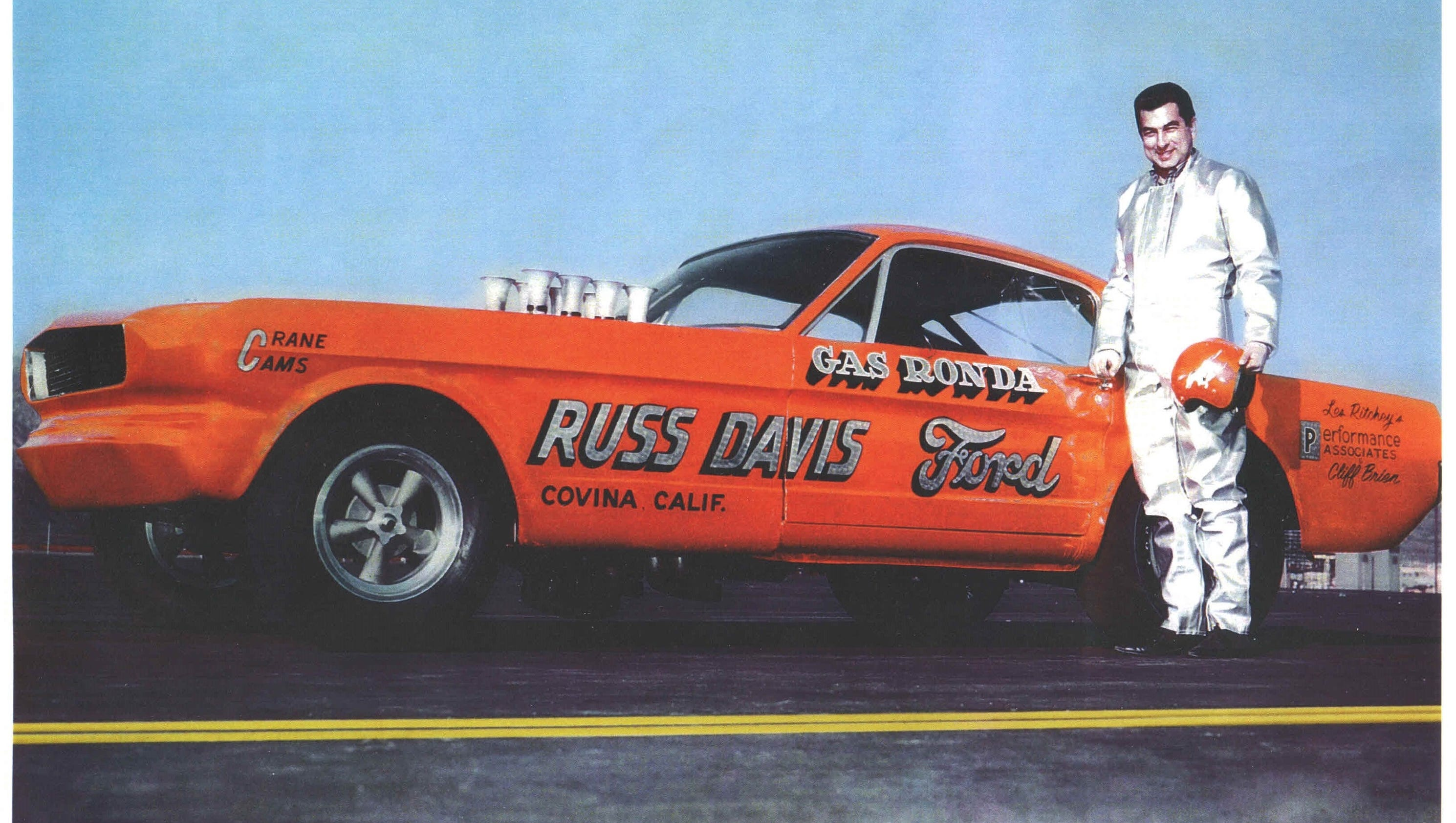 Desert Drag Racer Gas Ronda Gets Into Hall Of Fame