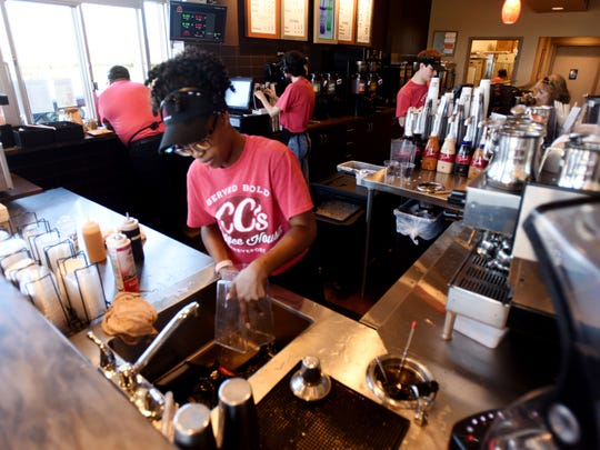 The CC's on Youree Drive is Shreveport's first location of the chain coffee house, another location is set to open on Ellerbe Rd next to Kroger Marketplace.