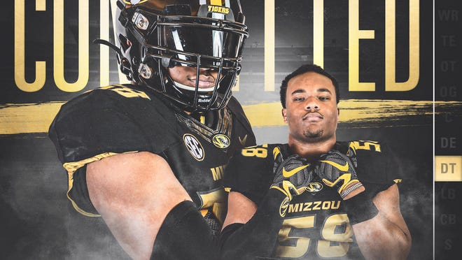 DeSmet defensive tackle Mekhi Wingo's edit from his commitment to Missouri football.