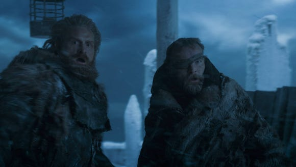 Tormund and Beric on 'Game of Thrones.'