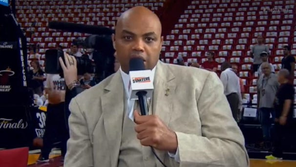 Charles Barkley on Carmelo Anthony to Miami.