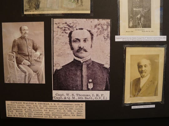 Some of the memories of the earliest African-American residents of Richland County on display at Mansfield Memorial Museum donated from the Corley family archives.